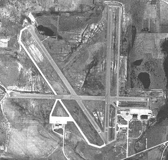 Mobile Regional Airport - Image of Bates Field, February 1952