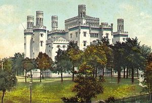 History of Baton Rouge, Louisiana - The old Louisiana State Capitol castle