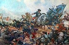 Assedio di Torino. Carica del Principe d'Anhalt di E. Knackfuss