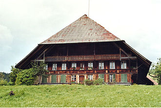 Emmental - Emmental farmhouse