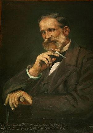 Zsolt Beöthy - Portrait of Zsolt Beöthy for the Kisfaludy Society