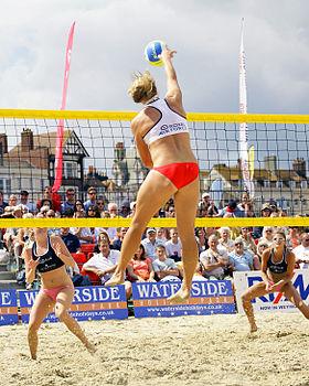 Beach Volleyball Classic 2007 Weymouth Dorset ENGLAND