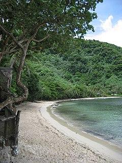 Alega Village in American Samoa, United States
