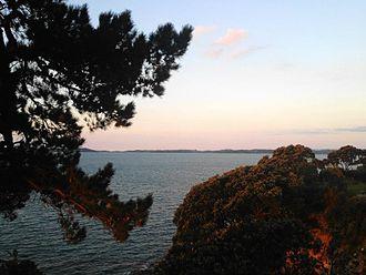 Beachlands, New Zealand - Cliffside on the bay near Beachlands