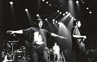 Rap rock - New York-based hip hop group Beastie Boys are considered highly influential within the rap rock genre.