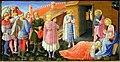 Beato Angelico, Annunciazione di San Giovanni Valdarno, 1432 ca., predella 03 adorazione dei magi.jpg