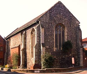 Wymondham Abbey - Becket's Chapel