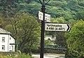 Beddgelert - Road Sign - geograph.org.uk - 2360588.jpg