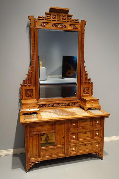 File Bedroom Suite Bureau By Mitchell Rammelsberg Furniture Company Cincinnati C 1880