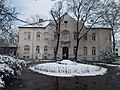 Bejárati épület homlokzat, Észak-Pesti Kórház, 2018 Pestújhely.jpg