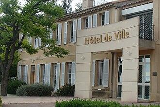 Belcodène - Town hall