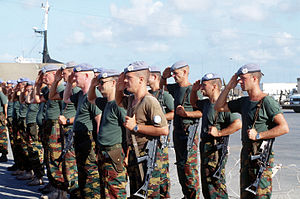 3rd Parachute Battalion (Belgium) - Belgian UNOSOM soldiers in Somalia,1993
