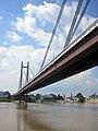 Belgrade, Serbia. New railway bridge (Novi železnički most) over the Sava river. - panoramio.jpg