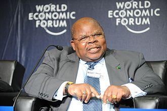 Minister of Foreign Affairs (Tanzania) - Image: Benjamin William Mkapa World Economic Forum on Africa 2010 2
