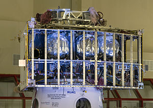 BepiColombo - Mercury Transport Module in ESTEC before stacking