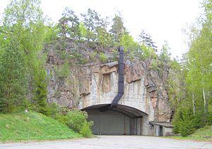 Underground hangar - Sweden