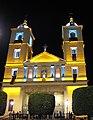 Berja, Iglesia Anunciación noche, Marzo 2008.JPG