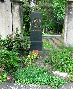 Friedrich Ludwig Georg von Raumer - Grave of Friedrich von Raumer and his wife Louise, née von Görschen