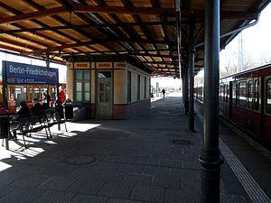 Berlin-Friedrichshagen station - Platform