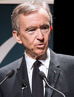 Bernard Arnault French business magnate