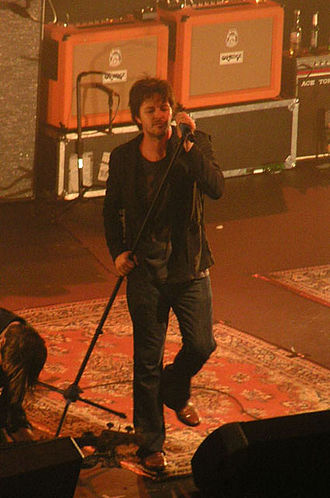 Bernard Fanning - Bernard performing with Powderfinger at London's Hammersmith Apollo, on 6 December 2007