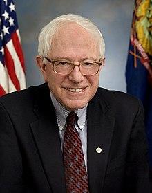 Official portrait photograph of Bernie Sanders
