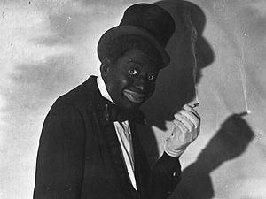 Bert Williams - Bert Williams in blackface