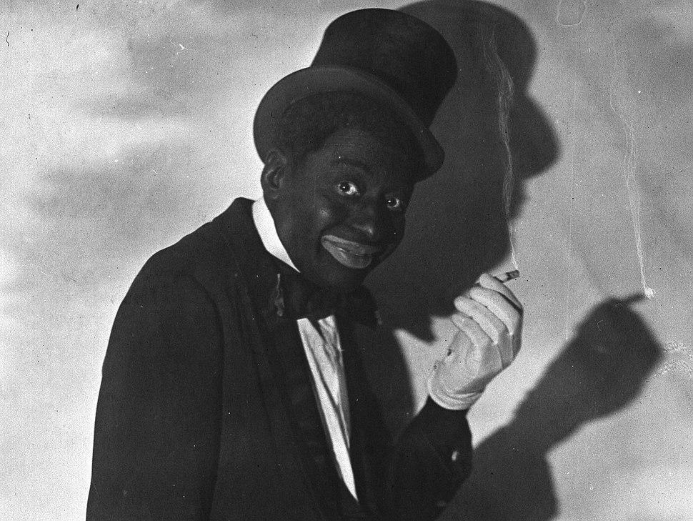 Bert Williams blackface 2