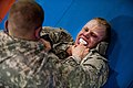 Best Warrior Soldiers battle during combatives tournament 140430-A-TI382-111.jpg