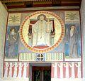 Beuron Mauruskapelle Fassadengemälde.jpg