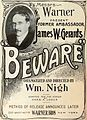 Beware! (1919) - Ad 1.jpg