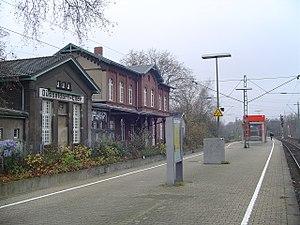 Düsseldorf-Eller - Düsseldorf-Eller station