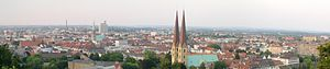 Bielefeld - Bielefeld as seen from Sparrenberg Castle