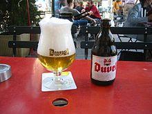 Bicchiere di Duvel
