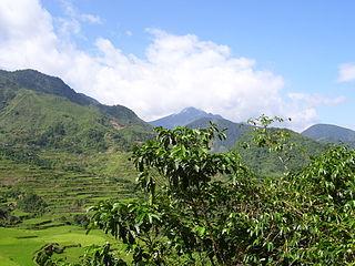 Mount Binuluan mountain