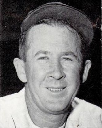 Birdie Tebbetts - Tebbetts during his time as Cincinnati Reds manager.