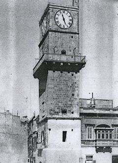 Birgu Clock Tower