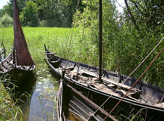 Birka - Reconstruction of boats