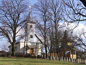 Biserica de lemn din satul Săliște