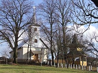 Băsești - Wooden Church in Sălişte