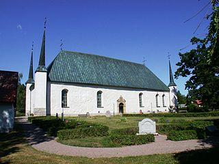 Björklinge Place in Uppland, Sweden