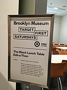 Black Lunch Table Wikipedia Editathon 01.jpg