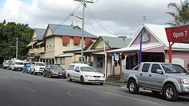 Blomfield Street (main street looking south-east), Miriam Vale, Queensland, 2016 01.jpg
