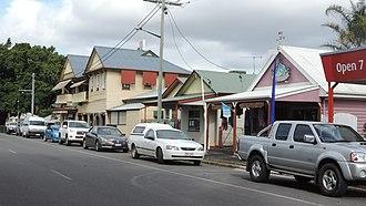 Miriam Vale - Blomfield Street (main street looking south-east), 2016