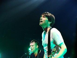 Alex James (musician) - Alex James in 2009