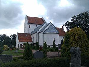 St Bodil's Church - Image: Bodils kirke