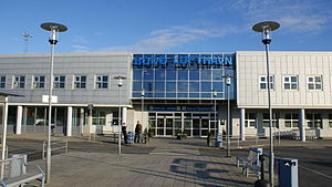 Bodø Airport - Bodø Airport main Terminal