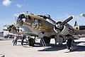 Boeing B-17G-85-DL Flying Fortress Nine-O-Nine LNose CFatKAM 09Feb2011 (14980817791).jpg