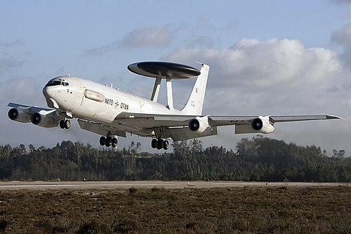 Boeing E-3A Sentry, NATO - Airborne Early Warning Force JP7563701