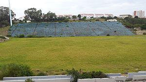 EPRU Stadium - Remnants of the EPRU Stadium in 2016